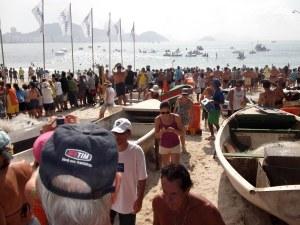 Copacabana travessia dos fortes
