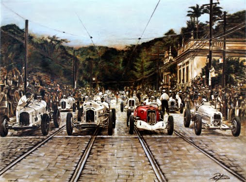 Circuito Da Gavea : Grande prix motor racing in brazil cariocaforever