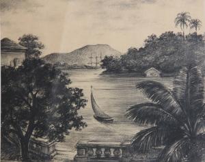 Charcoal Guanabara Bay Janos Kurz2