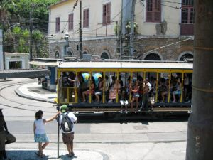 The last tram line in Rio - Santa Teresa
